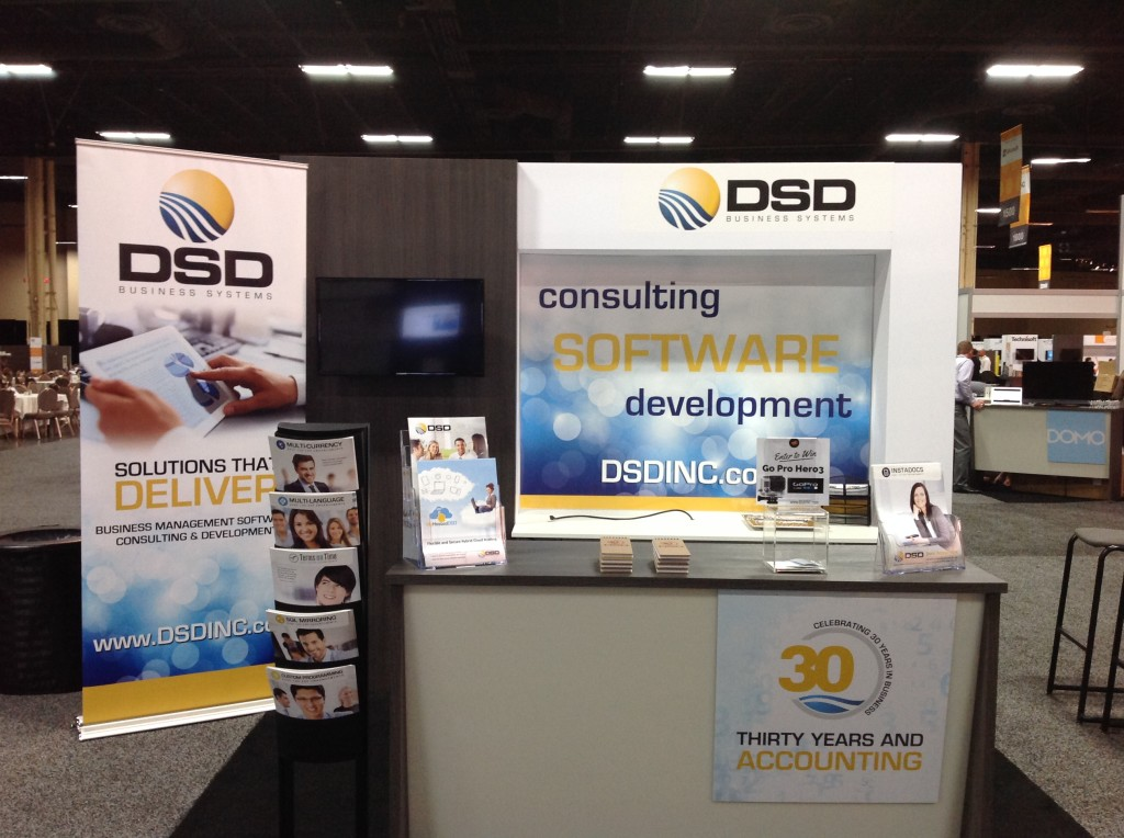 30 Years And Accounting Booth