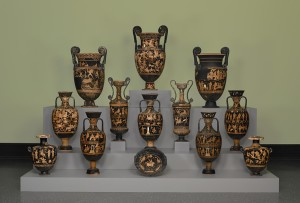 Vases from the Getty exhibit
